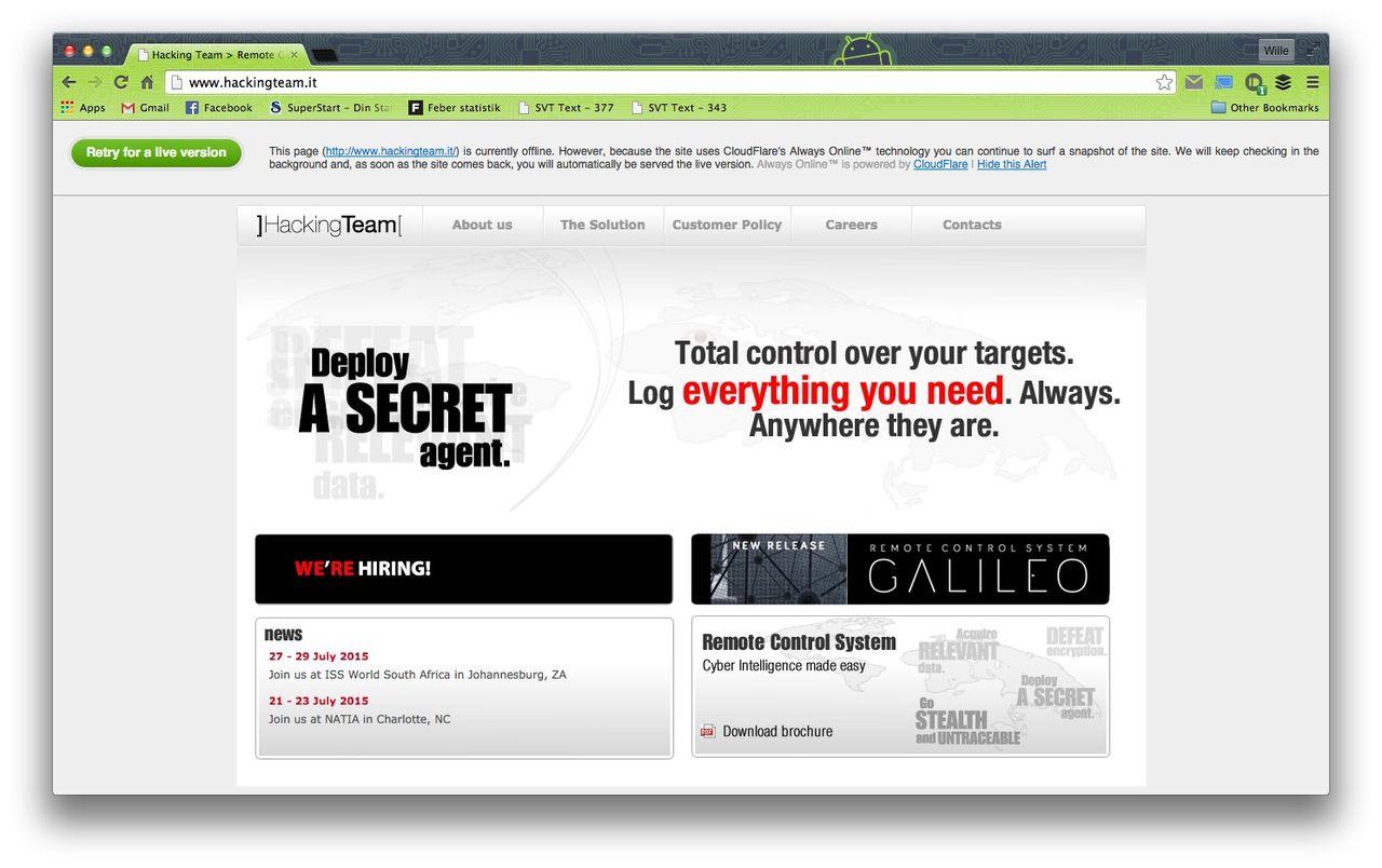 Känd hacker tar på sig dataintrånget mot Hacking Team