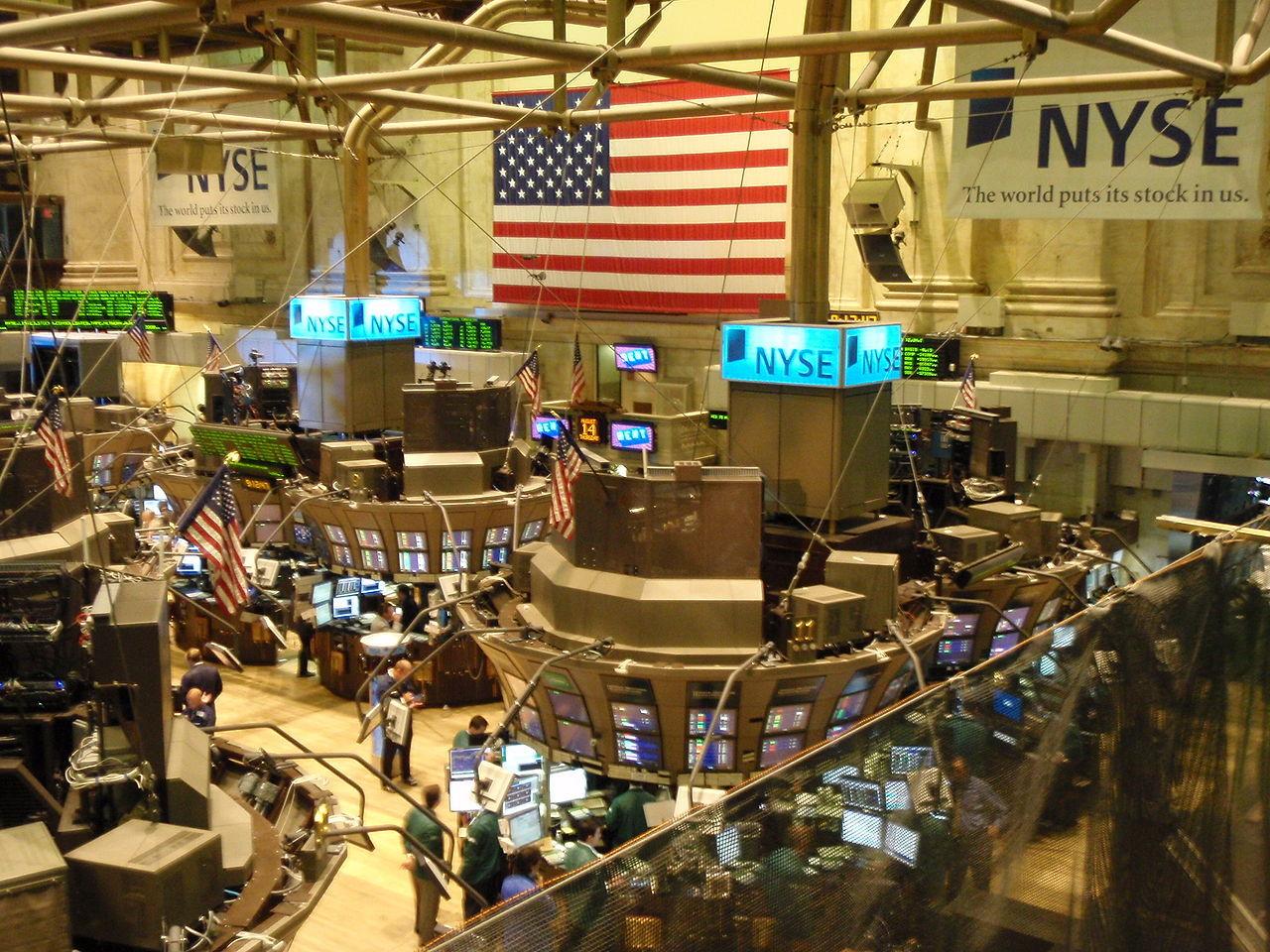 Låg Anonymous bakom störningar på New York-börsen?