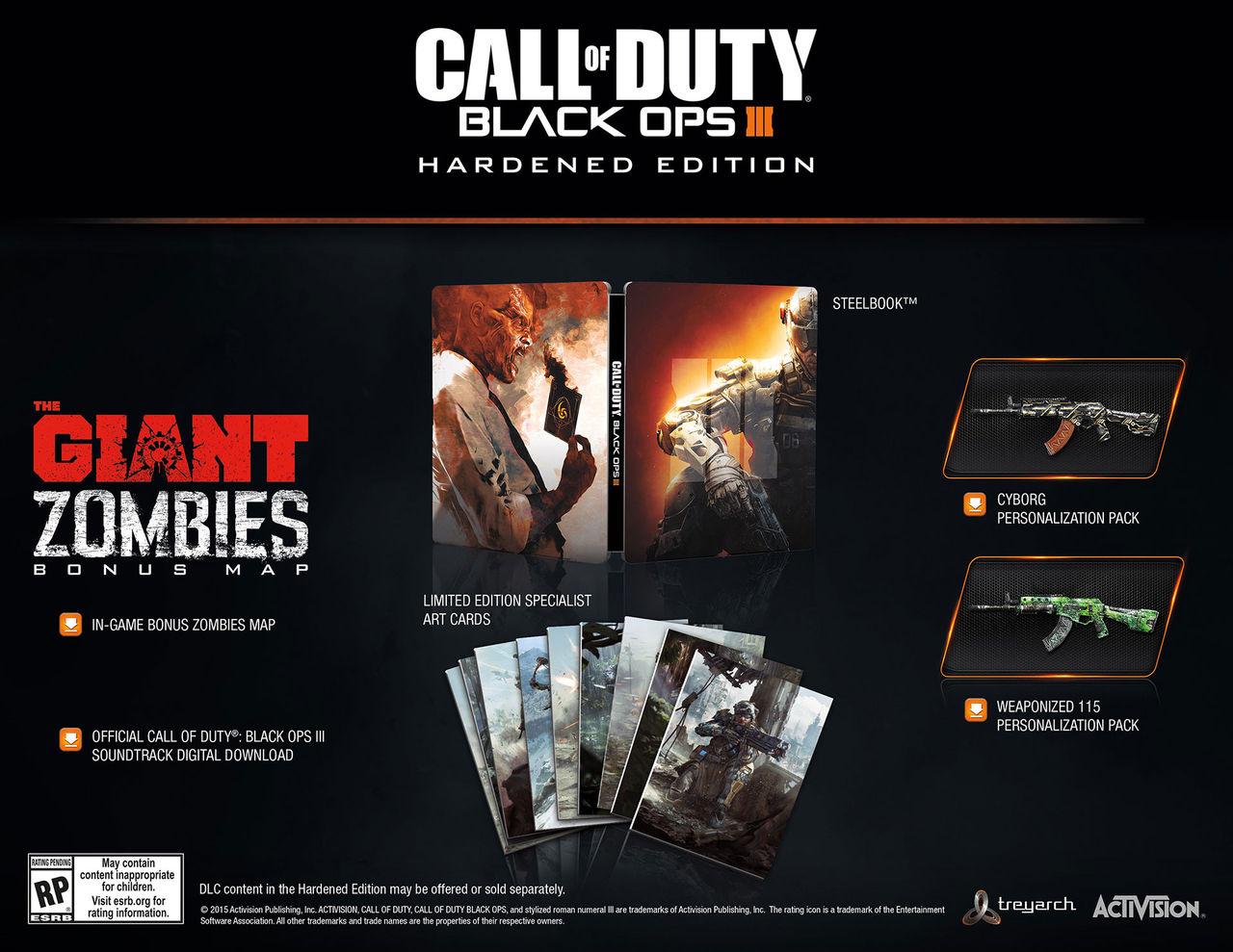 Zombieläge för Call of Duty: Black Ops III presenterat