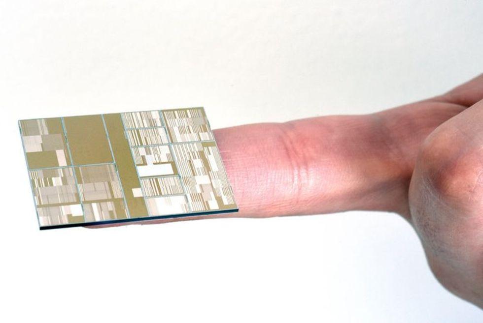 IBM tar fram microchip på 7 nanometer