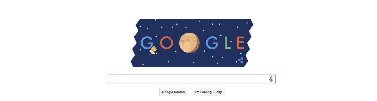 Google firar New Horizons Plutoresa