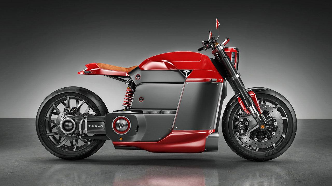 Om Tesla skulle bygga en motorcykel