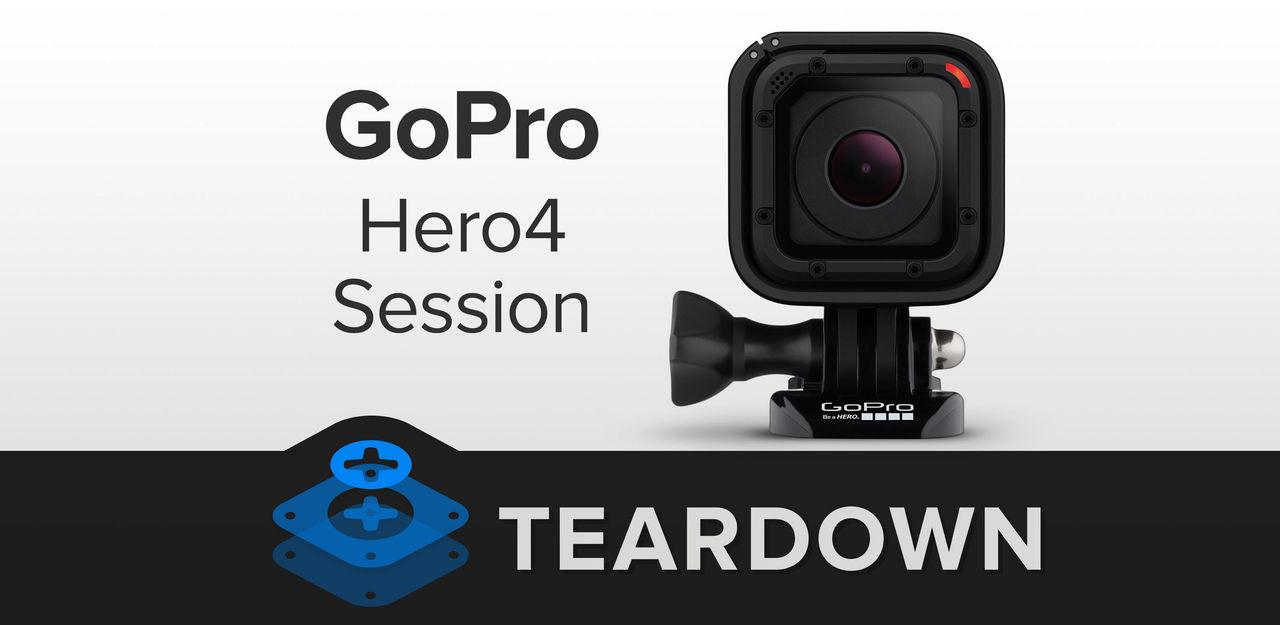 GoPro Hero4 Session plockas isär av iFixit