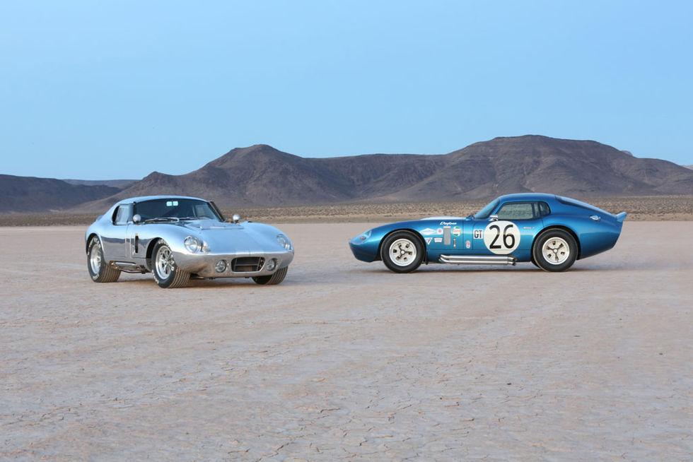 Shelby gör replika av Daytona Coupe