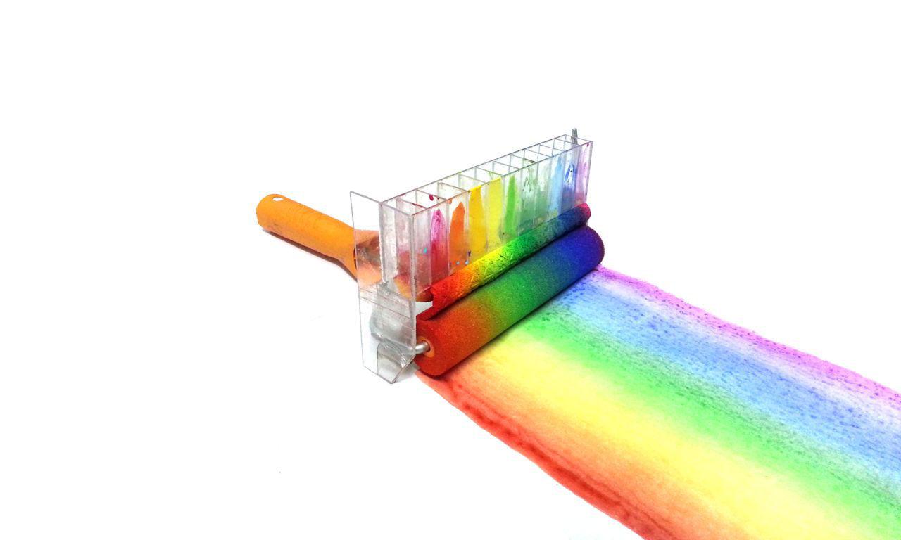 Nu kan du måla regnbågen