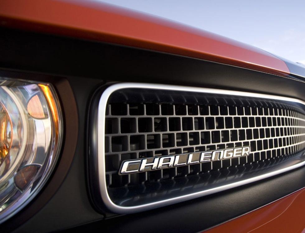 Chrysler visar delar av Challenger