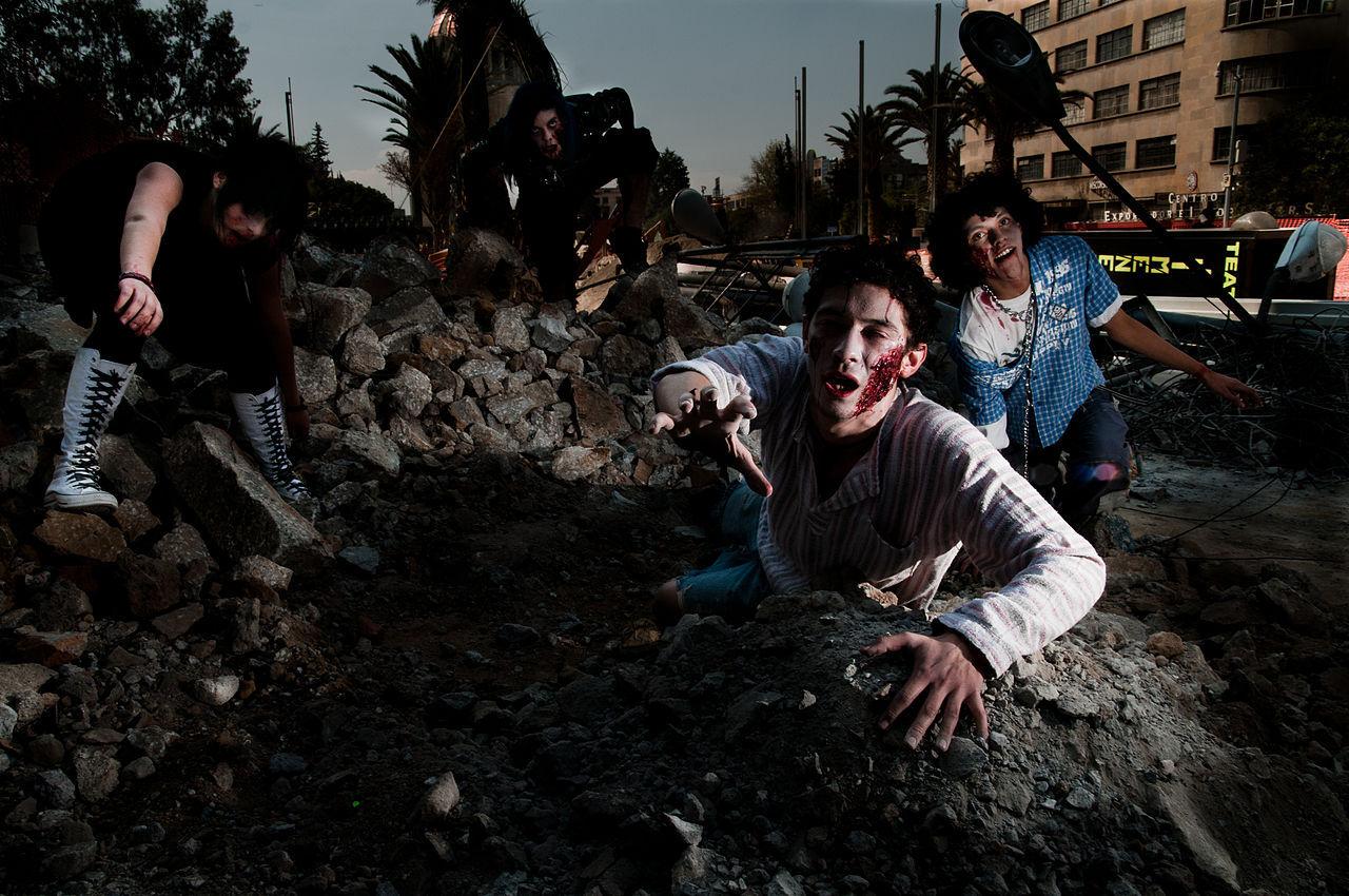 Backstreet Boys och N'Sync gör zombiefilm