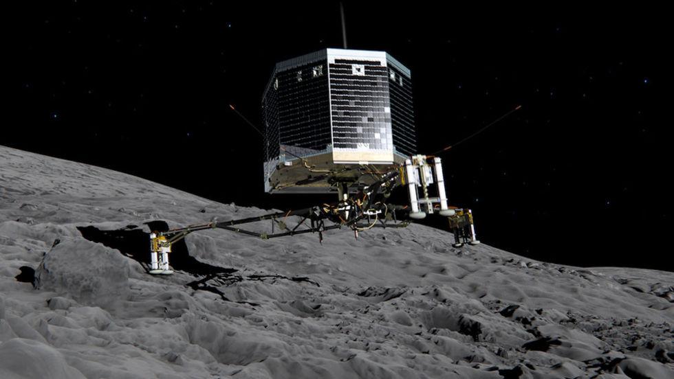Kometlandaren Philae har tystnat igen