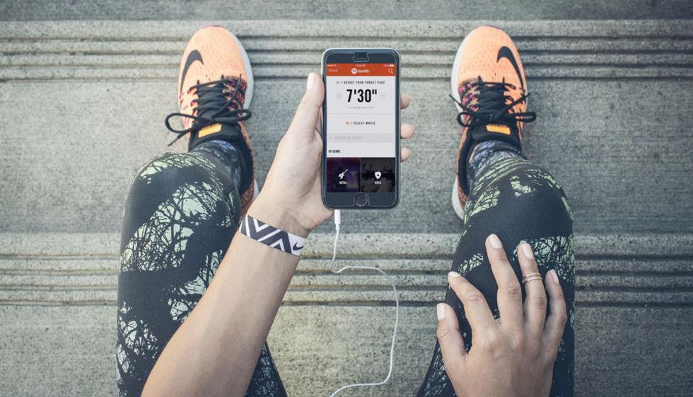 Nike  inleder samarbete med Spotify