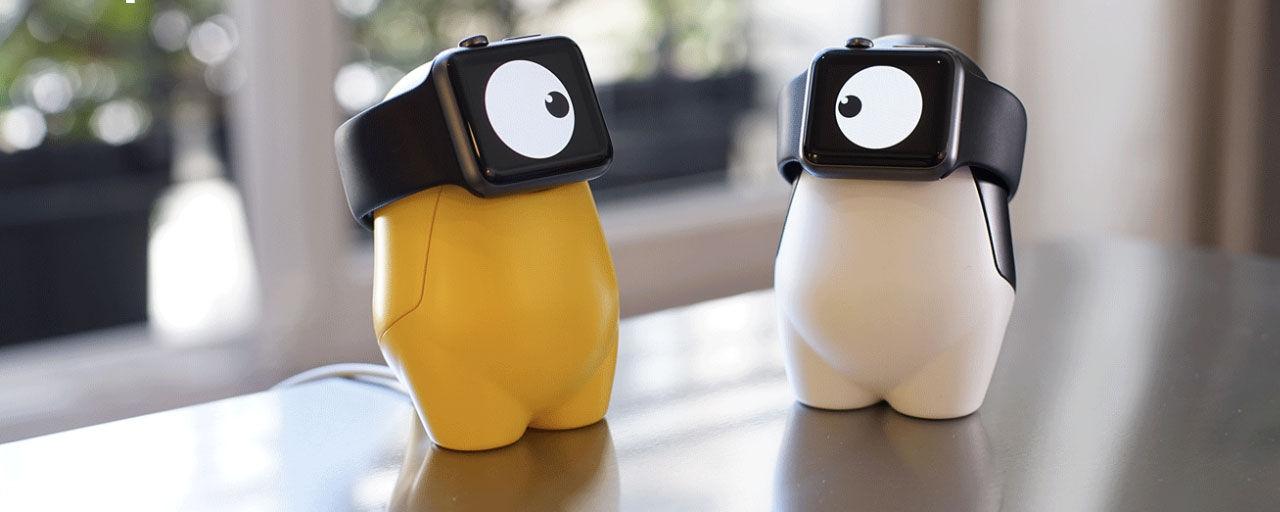 WATCHme är ett sött laddningställ till Apple Watch