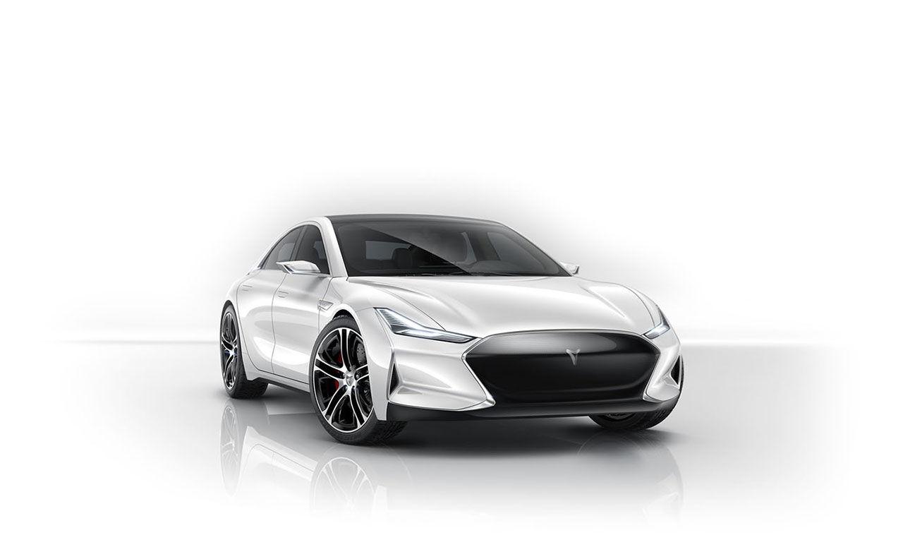 Ny modell från Tesla? Nej, men en Kinakopia