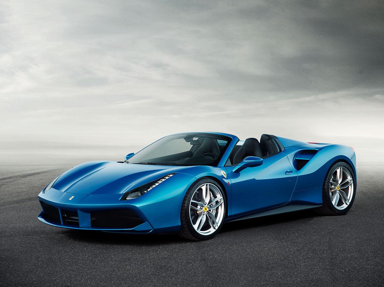 Ferrari presenterar 488 Spider