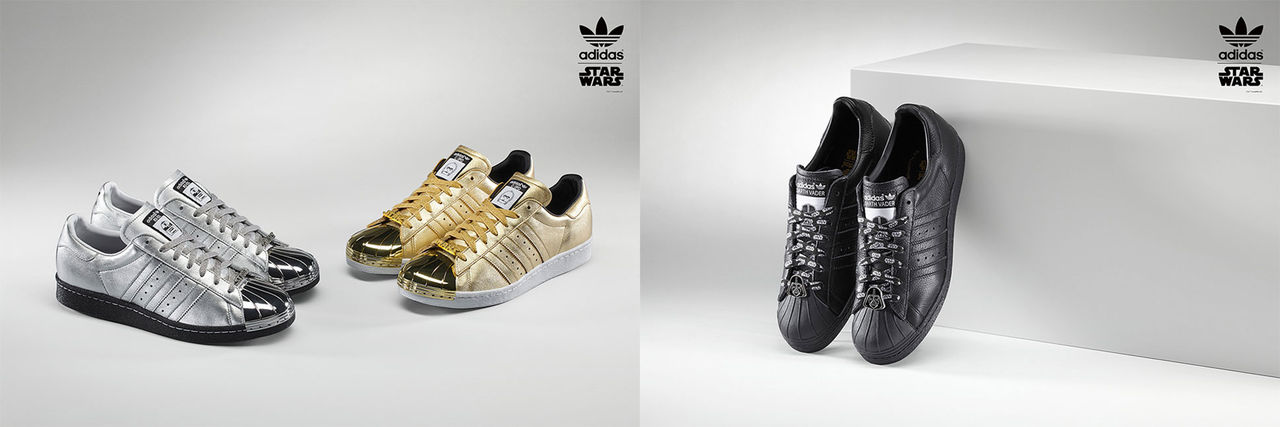 Adidas Superstar 80s får Star Wars-tema