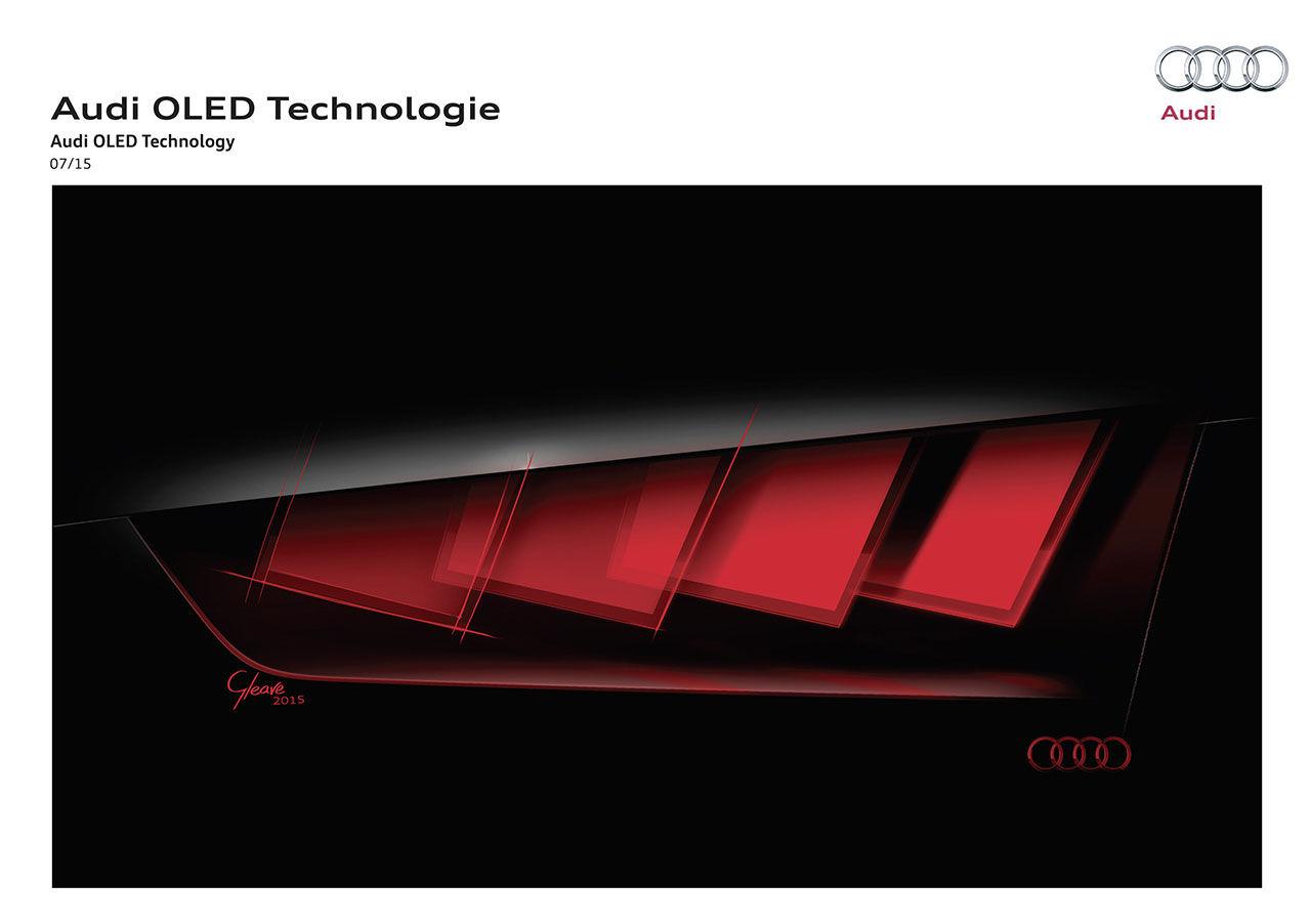 Audi visar ny ljusteknik på Frankfurtmässan i höst