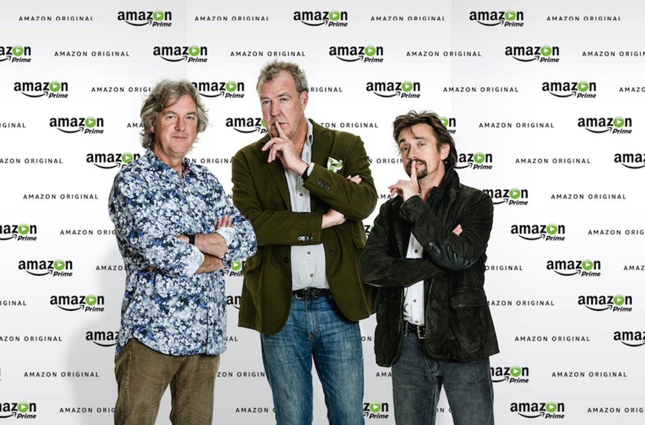 Top Gear-gängets nya bilprogram blir exklusivt för Amazon Prime