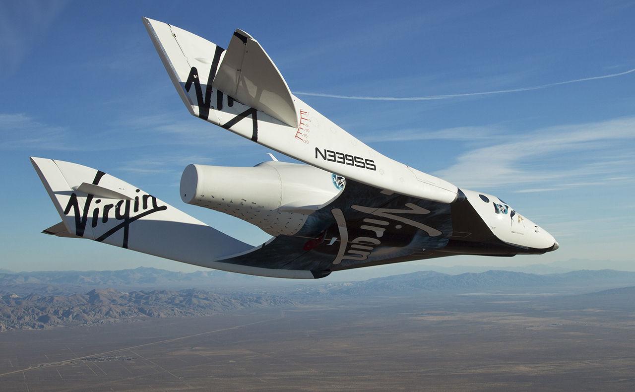 SpaceShipTwo kraschade på grund av dålig pilotutbildning