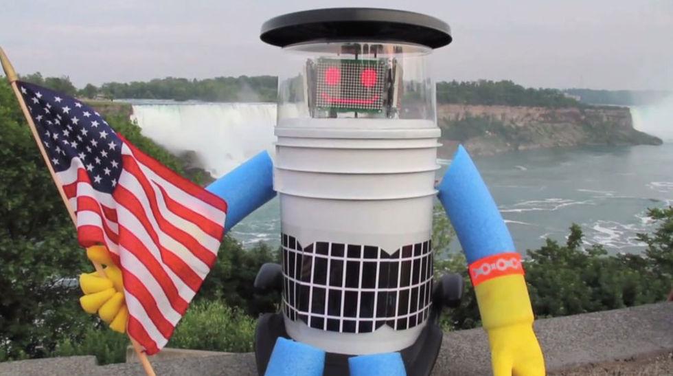 Liftande robot ihjälslagen i USA