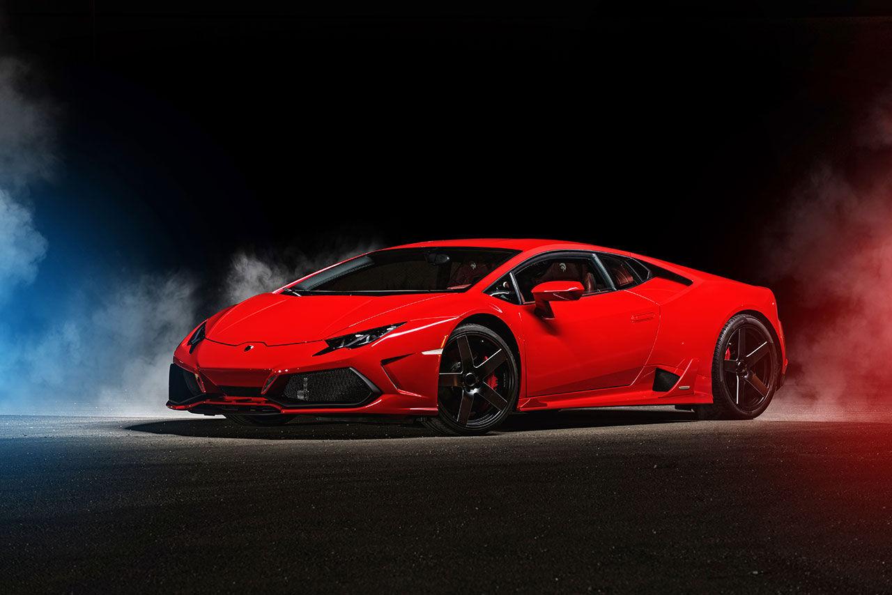 Ares Design ger sig på Lamborghini Huracán