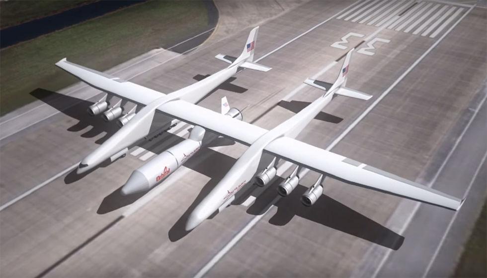 Världens största flygplan ska testflyga nästa år