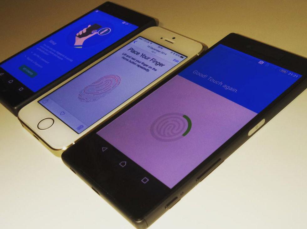 Bild på Sony Xperia Z5 och Z5 Compact läcker