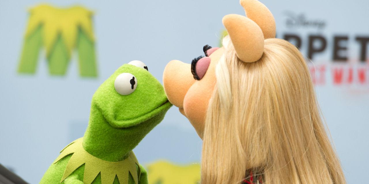 Miss Piggy och Kermit har gjort slut