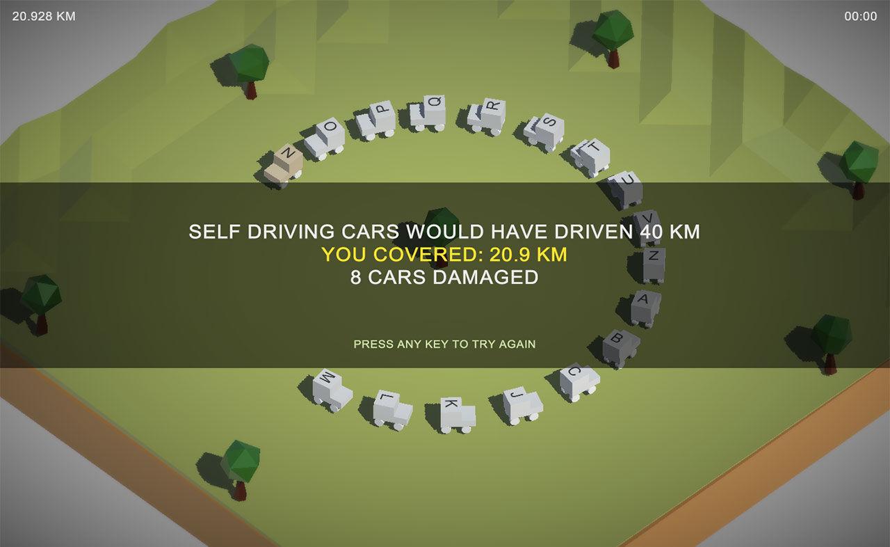 Spelet Error Prone visar varför självkörande bilar är bättre