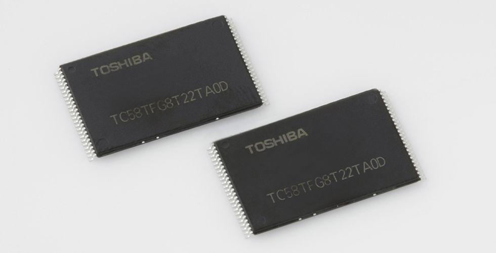 Toshiba och SanDisk fördubblar kapaciteten på sina minneschip
