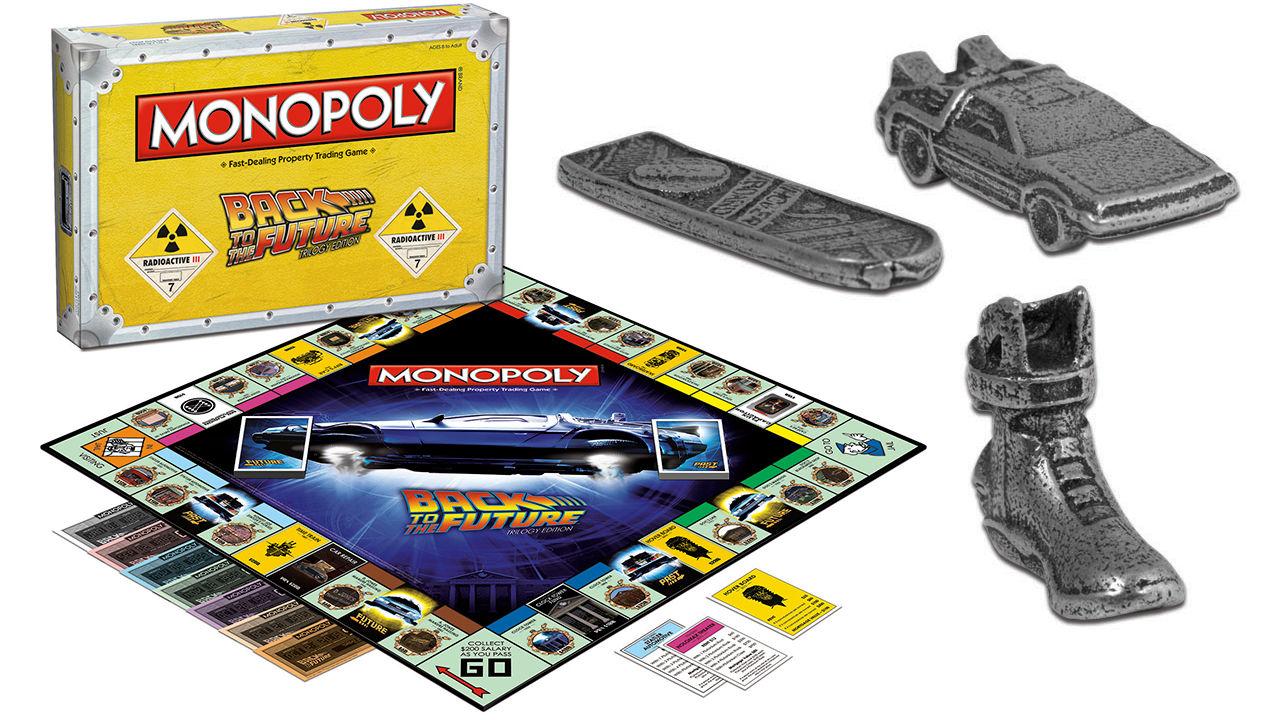 Tillbaka till framtiden som Monopol