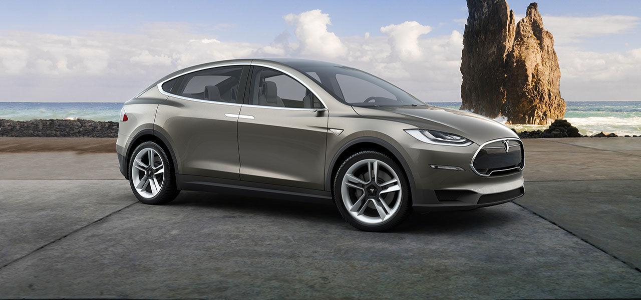 Tesla Model X börjar skeppas nästa månad