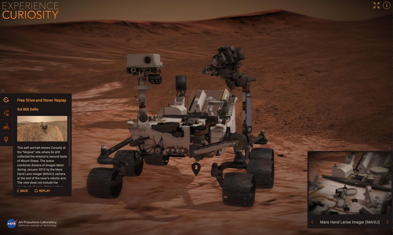 Kör runt på Mars i den här simulatorn