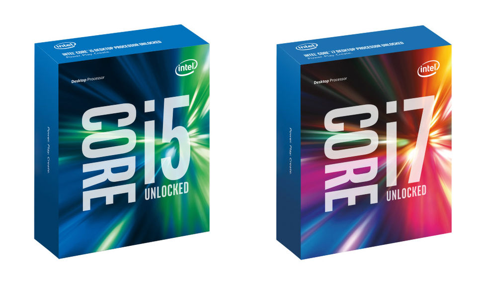 Intel släpper lös sjätte generationens Intel-processorer