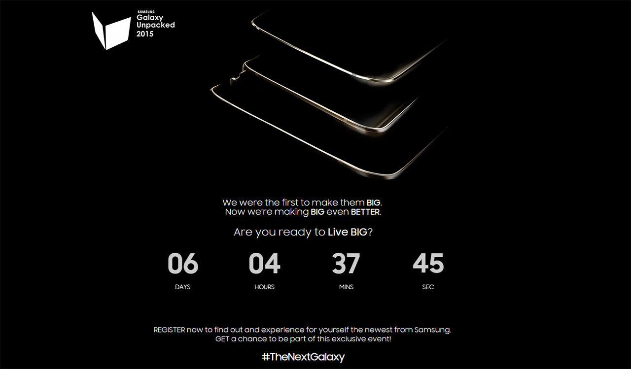 Samsung räknar ner för Unpacked-event