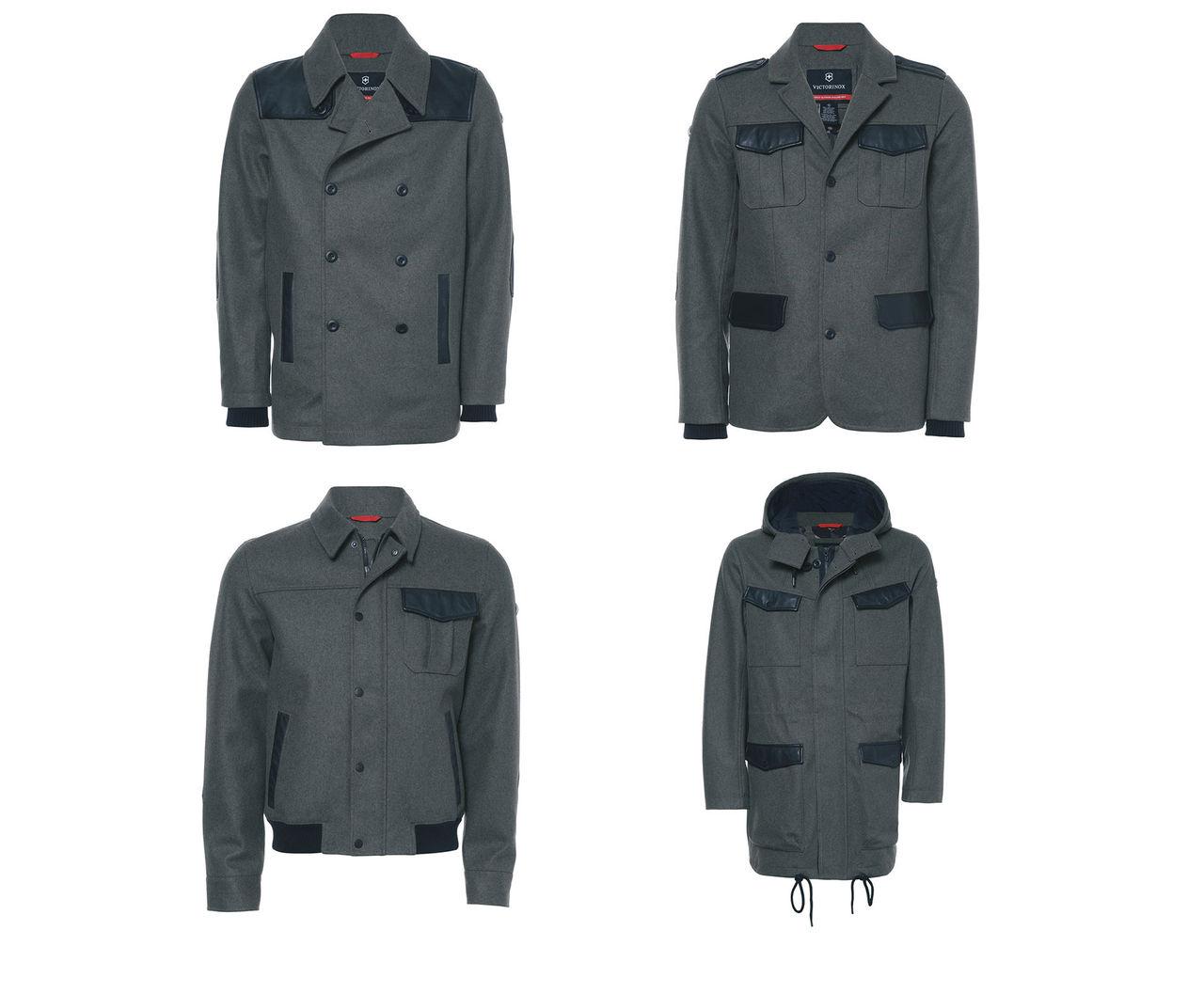 Victorinox lanserar nya jackor