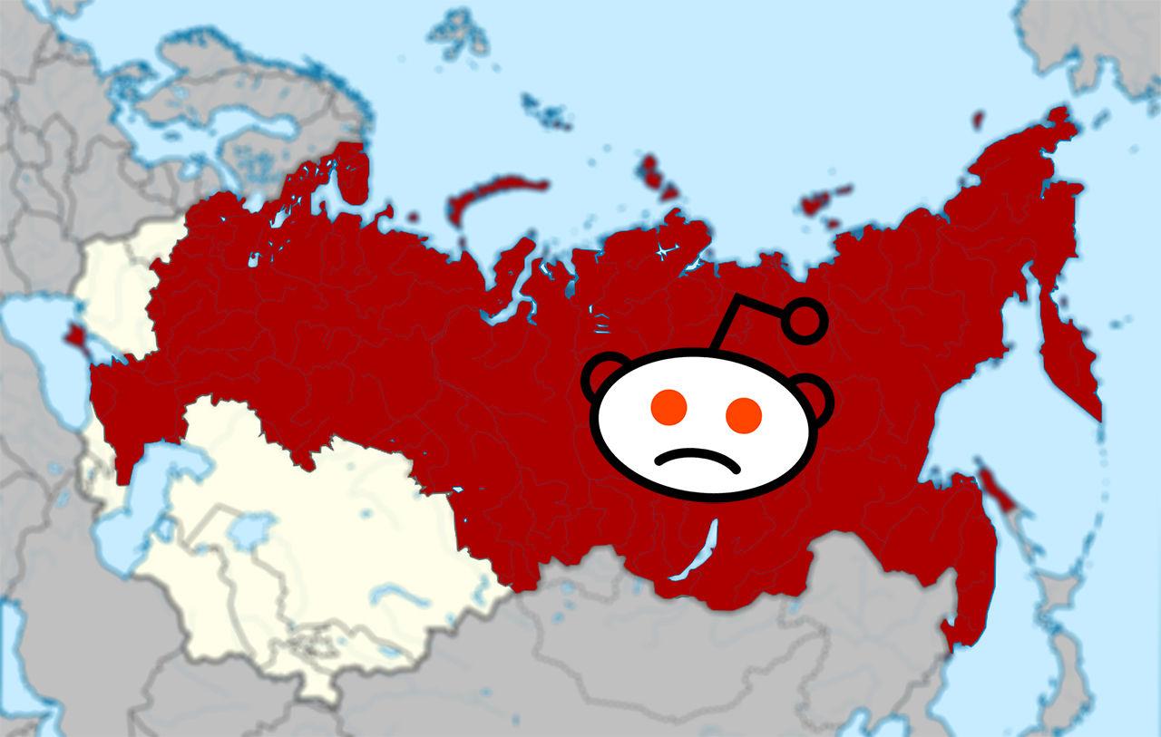 Reddit blockerat i Ryssland