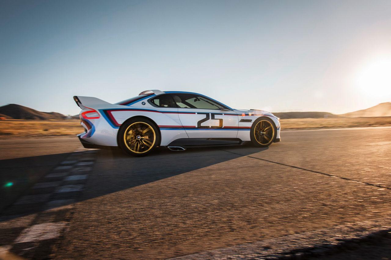 BMW CSL Hommage får nya kläder