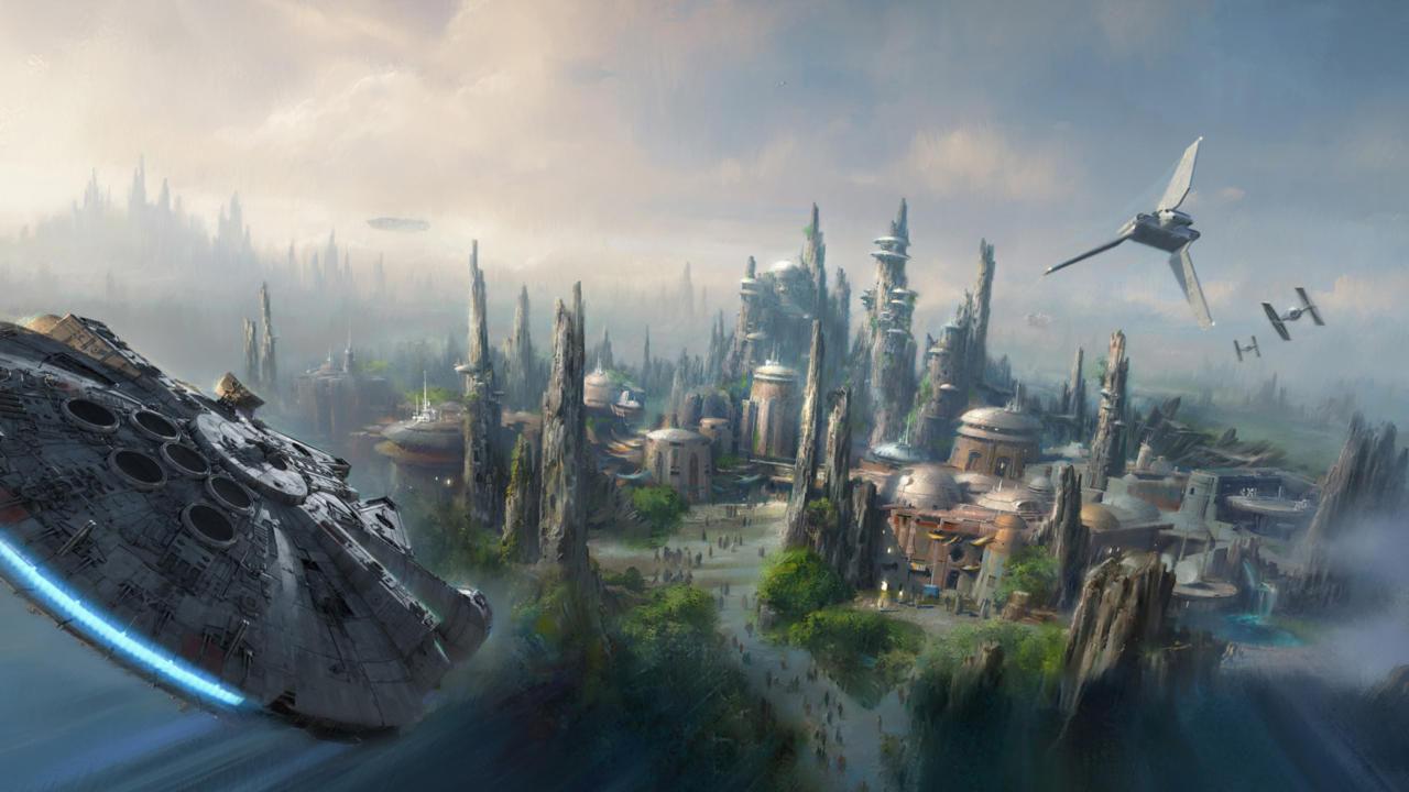 Star Wars-område till Disney World bekräftat