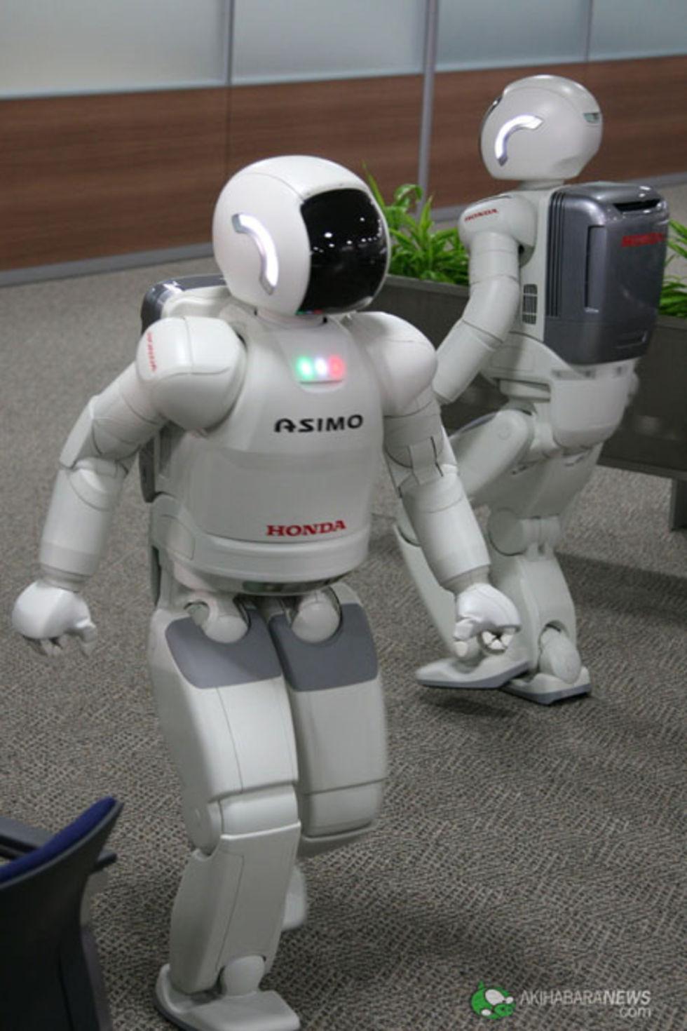 Roboten Asimo uppdaterad!