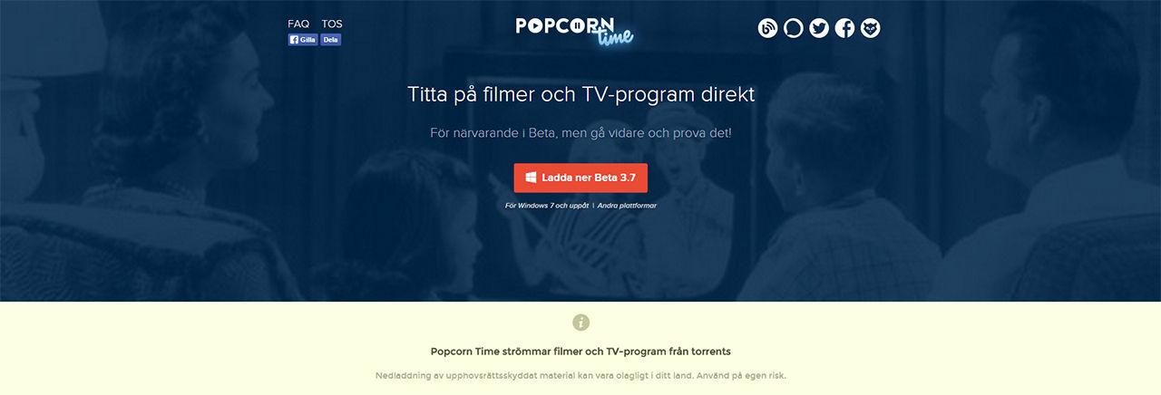 Två danskar häktade för Popcorn Time-domäner