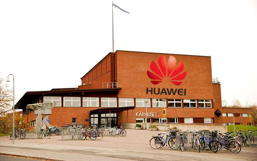 Huawei expanderar lundakontoret