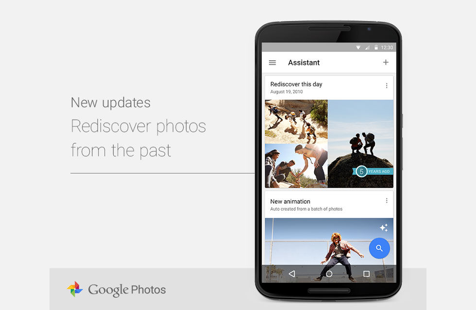 Google Photos goes timehopping