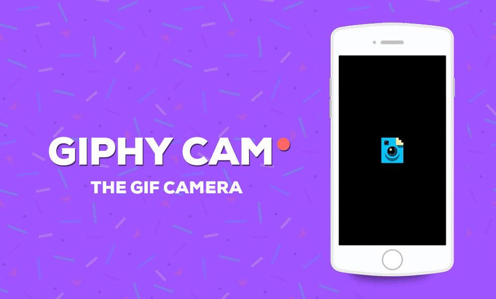 Giphy Cam till iOS ute nu