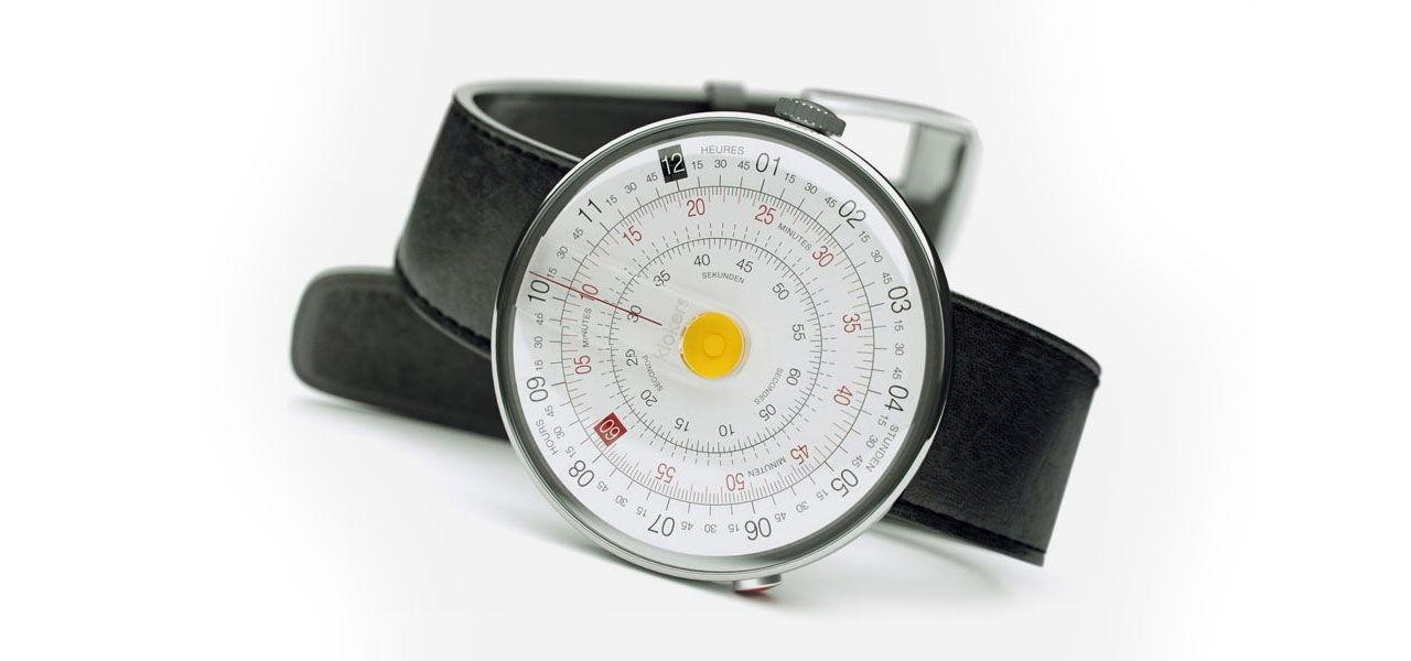 En klocka med linjalkänsla
