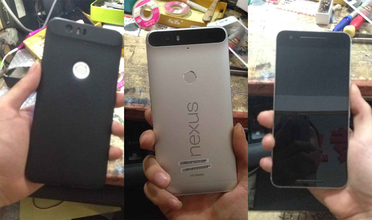 Bilder på Huawei:s Nexus läcker