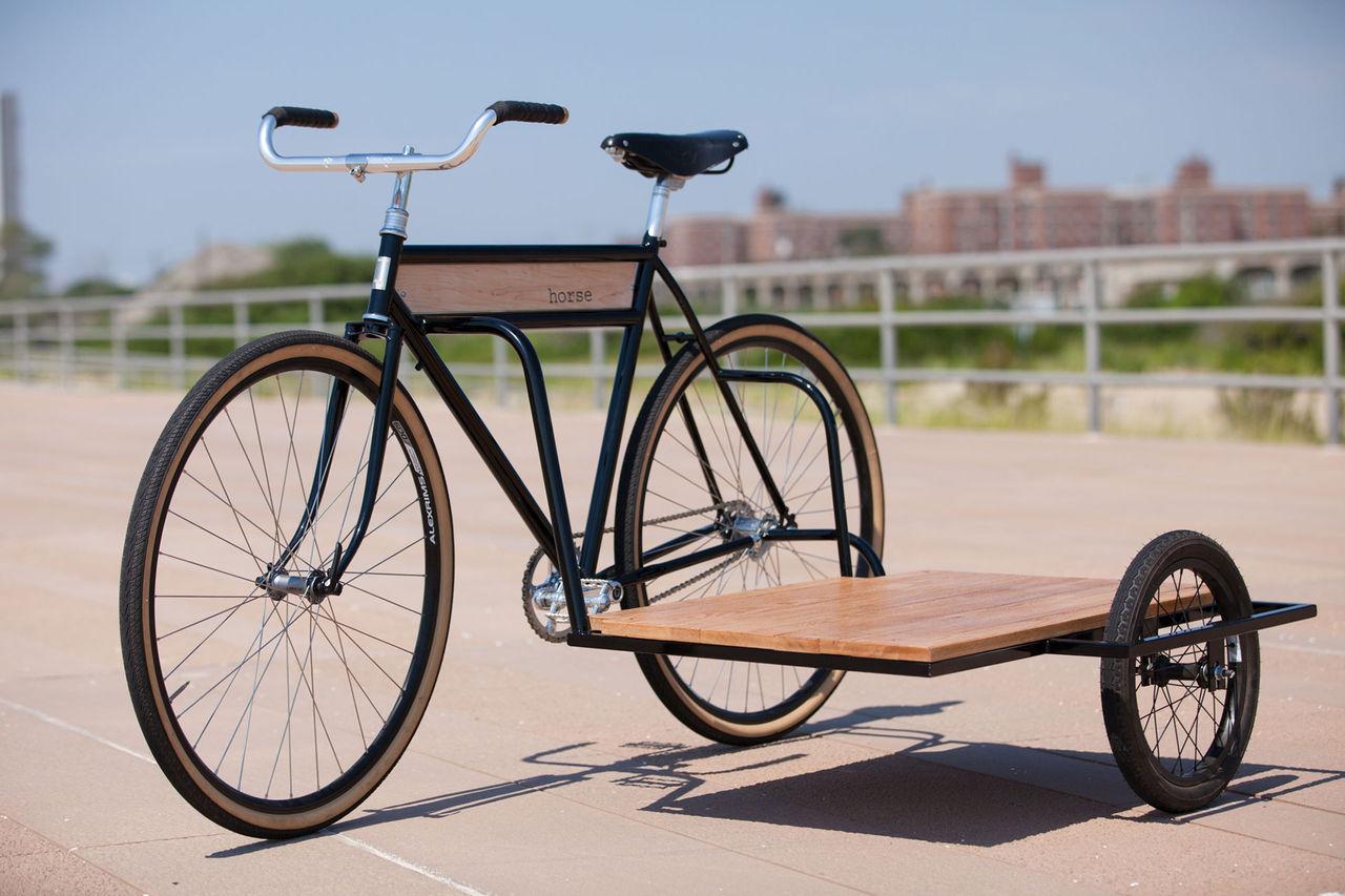 Cykel med sido...hmm...planka