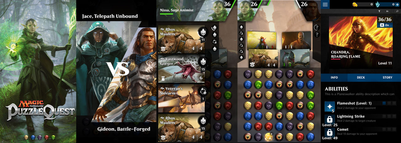 Magic: The Gathering möter Puzzle Quest
