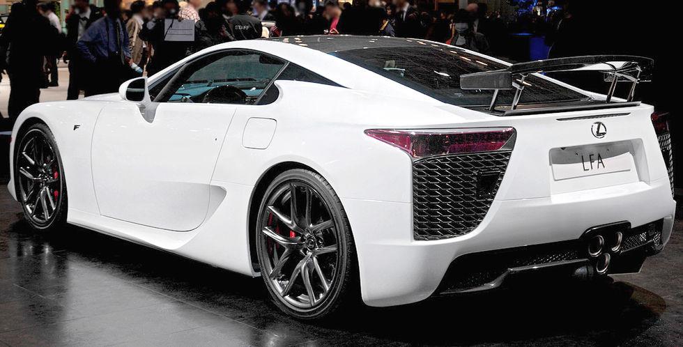 Lexus mest älskade bilmärket i USA