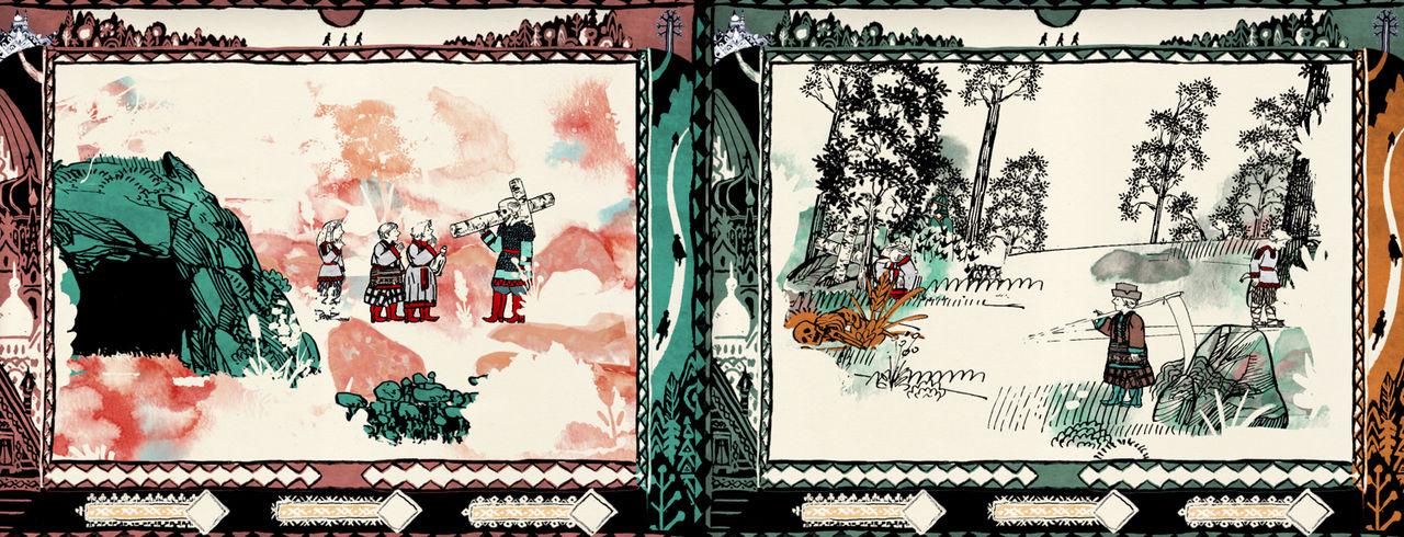 Proteus-folkets nya spel heter Forest of Sleep