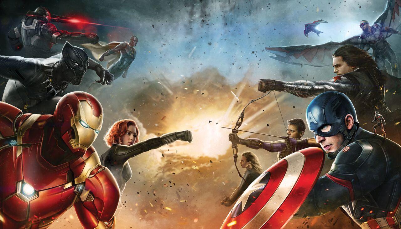 Vem slåss för vem i Captain America: Civil War?