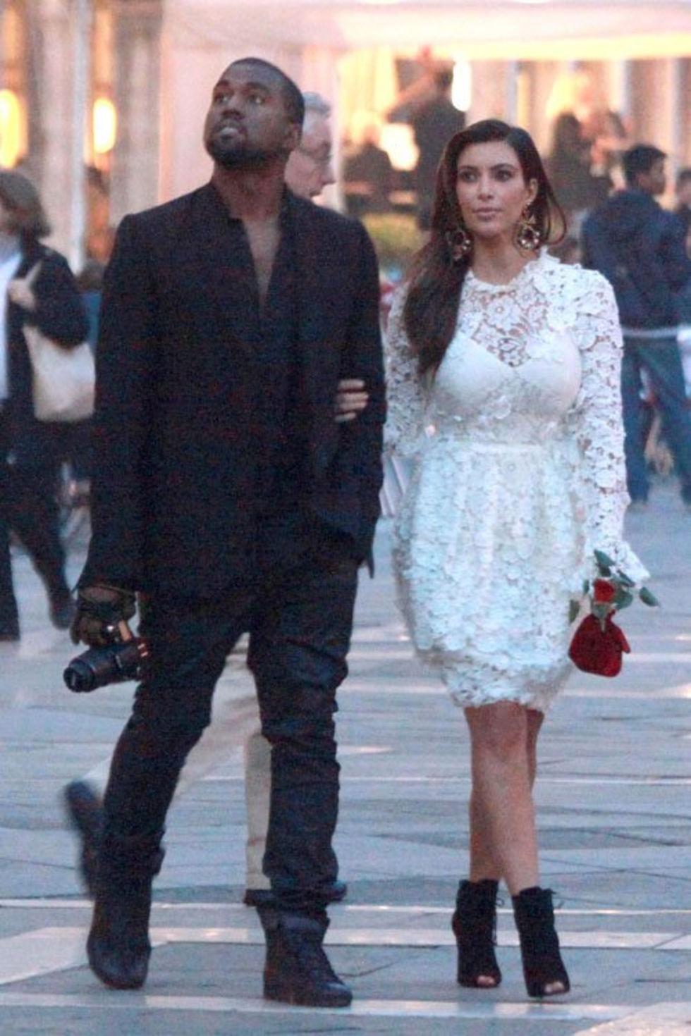 När gjorde Kanye väst och Kim Kardashian börja dejta