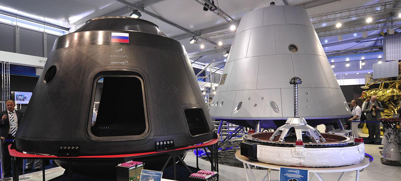 En första titt på Rysslands nya rymdfarkost